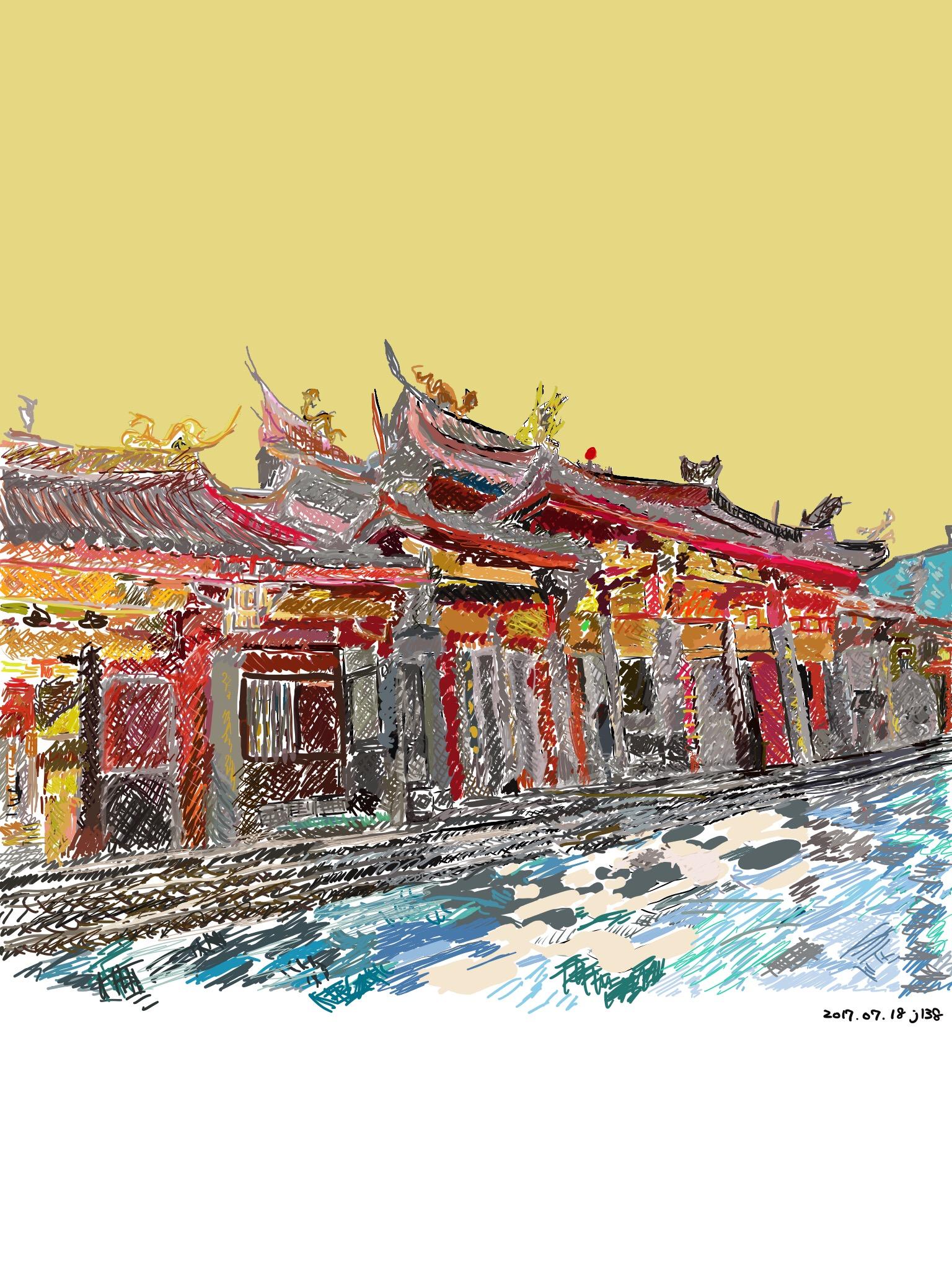 台北の行天宮